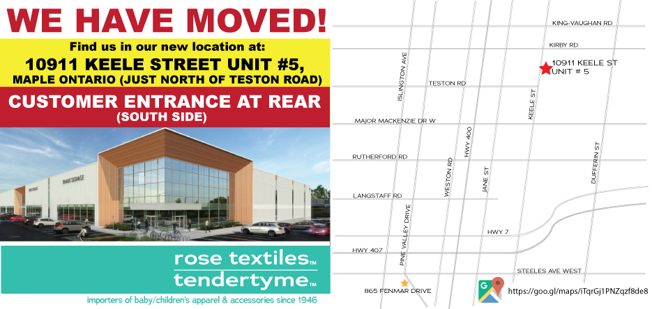Rose Textiles is Moving
