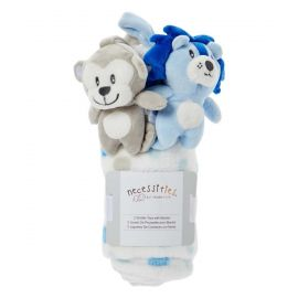 Stroller Toy With Blanket : Blue