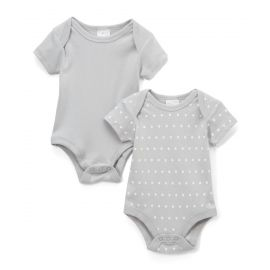4062: 2 Pack Bodysuit - Dotted