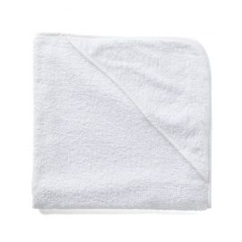 Solid Hooded Towel - White