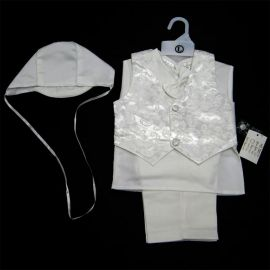 5006: 5 Piece Boys Christening Outfit