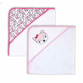 2 Pack Hooded Towel Sets -Fawn