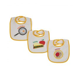 3 Pack Meal Set Bibs