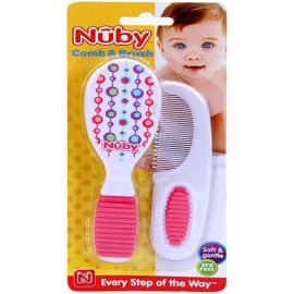 Nuby- Comb & Brush Set -Assorted