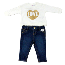 GIRLS 2PC  SET: LOVE
