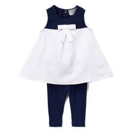 M14801: Girls 2 Piece Sailor Set