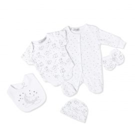 NEUTRAL 5PC VELOUR SET: BEAR