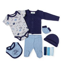 BOYS QUILTED 9PC SET: COOL DUDE